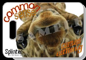 Giraffe Face - Common Sense Comes Calling