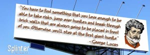 George Lucas Quote