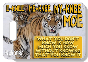 E-KNEE ME-KNEE MY-KNEE MOE: A blog about Impulse & Instinct