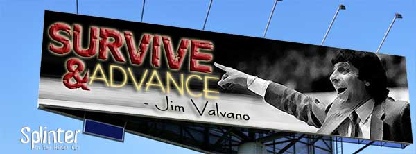 Survive and Advance - Jim Valvano Quote