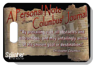 Personal Note From Columbus' Journal