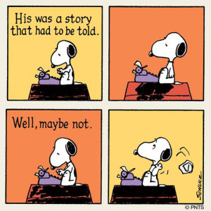 Snoopy Story to be told