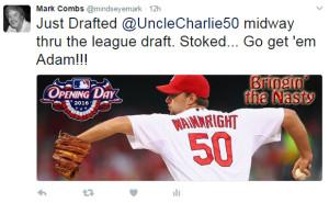 Tweet - Wainwright